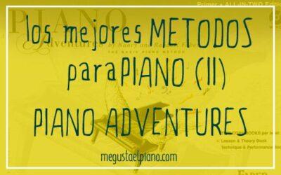 método para piano: Piano Adventures