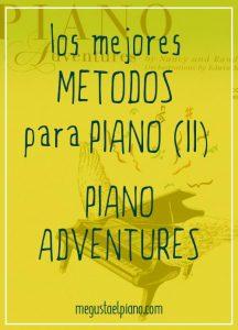 Métodos para piano: Piano Adventures