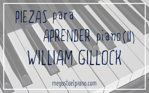 Repertorio para piano: William Gillock
