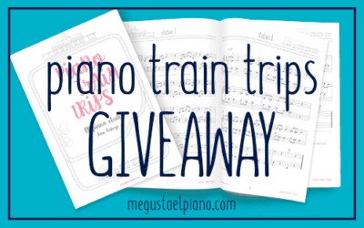 Sheet music giveaway: 5 Piano Train Trips pieces for free