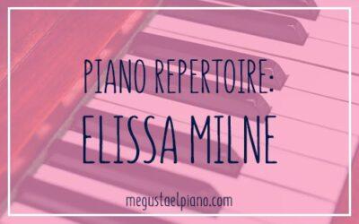 Piano Repertoire: Elissa Milne