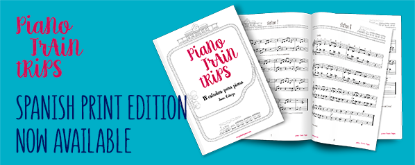 piano train trips book
