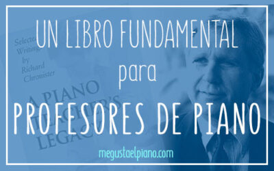 libro fundamental para profesor de piano