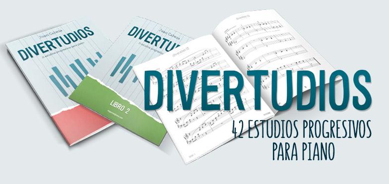 divertudios - 42 estudios para piano