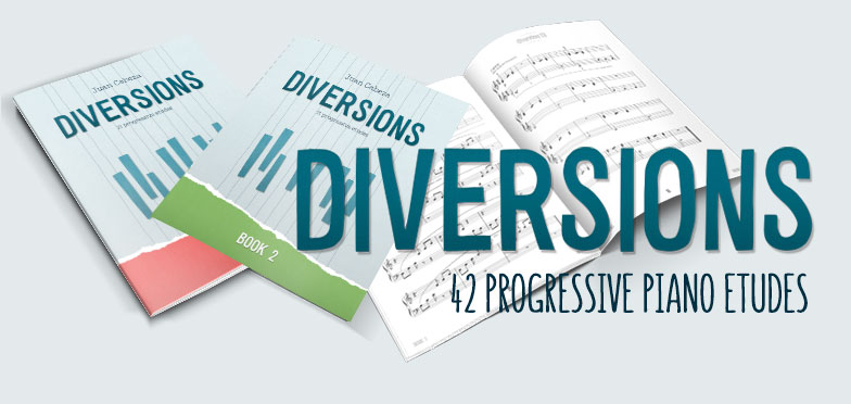 Diversions piano etudes
