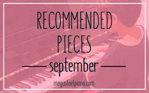 Recommended pieces of the month- September
