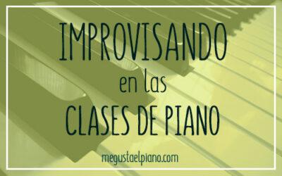 Improvisando en la clase de piano