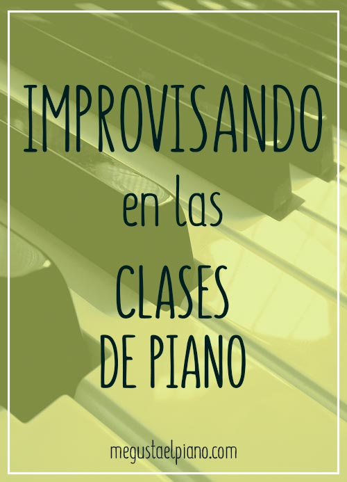 Improvisar al piano