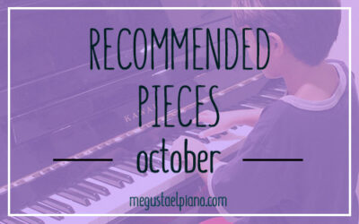 Recommended piano pieces
