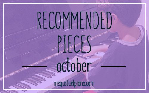 Recommended pieces of the month- October