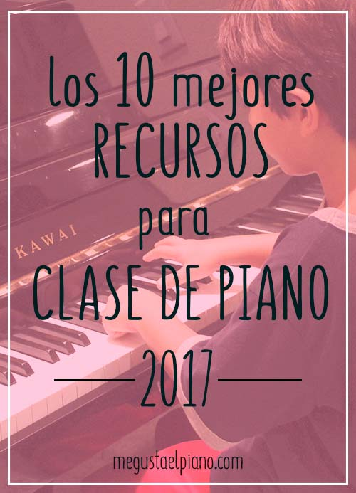 recursos para clases de piano