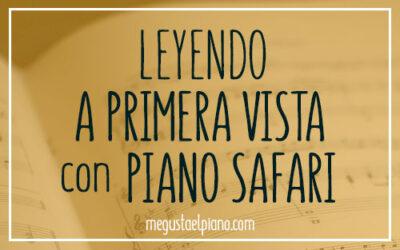 Leyendo a primera vista con Piano Safari