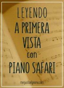 piano safari primera vista