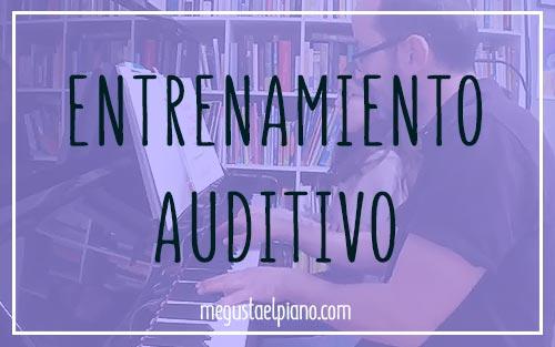 Entrenamiento auditivo en clase de piano