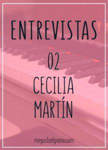 Entrevistas megustaelpiano Cecilia Martín