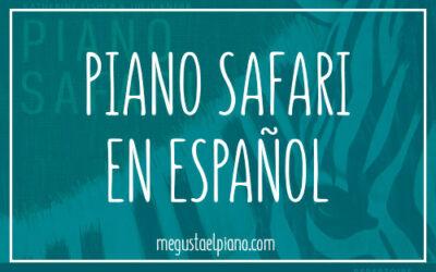 Piano Safari en español