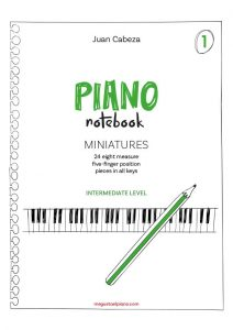 Juan Cabeza Piano Notebook 1