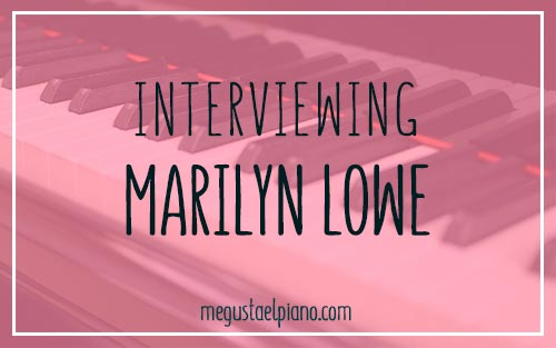 Interviewing Marilyn Lowe