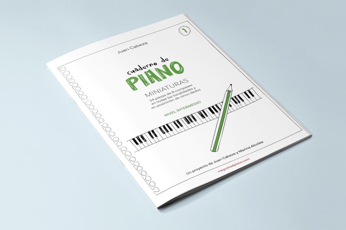 cuaderno de piano