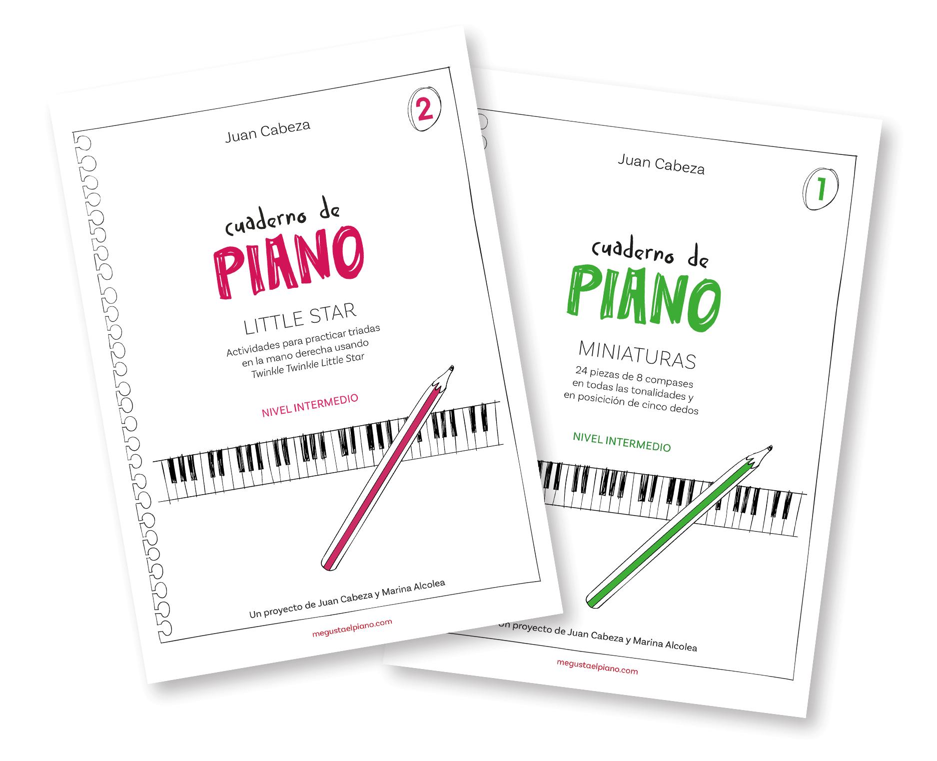 Cuaderno de piano - Juan Cabeza