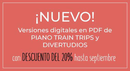 Descuento Piano Train Trips