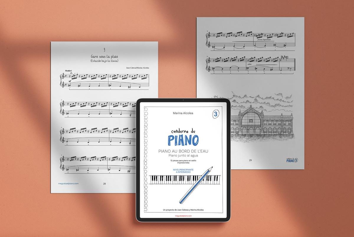 Cuaderno de piano. Juan Cabeza